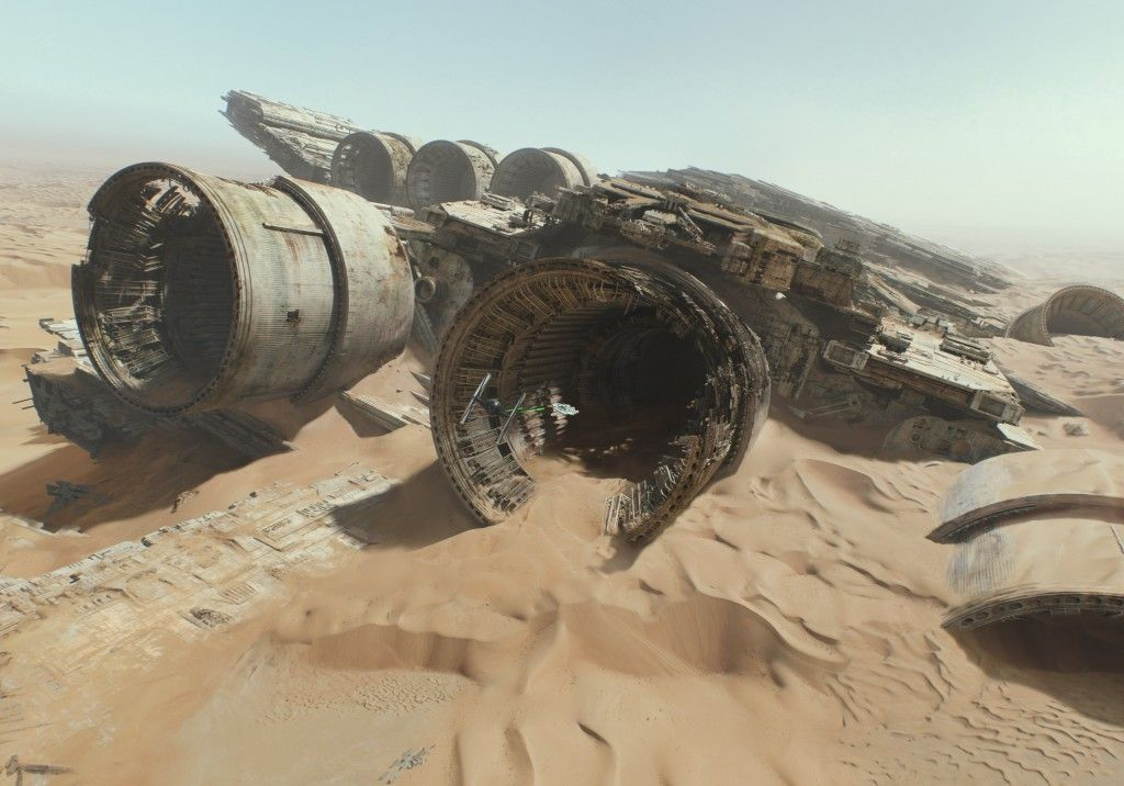 Star-Wars-7-Force-Awakens-Teaser-Trailer-2-Crashed-Ship-on-Jakku-1024x716