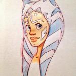 Ahsoka Lives Day by Hollie Ballard (Twitter: jammyjimjams)