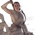 Rey by Alice (Tumblr: maltair)