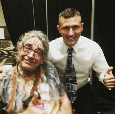 Riley and Peter Mayhew