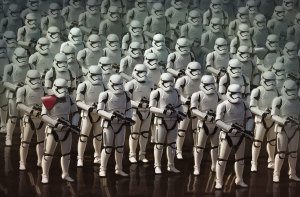 And I don't mean just adding some more stormtroopers in the background, George.