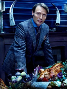 HANNIBAL -- Season: 1 -- Pictured: Mads Mikkelsen as Dr. Hannibal Lecter -- (Photo by: Robert Trachtenberg/NBC)