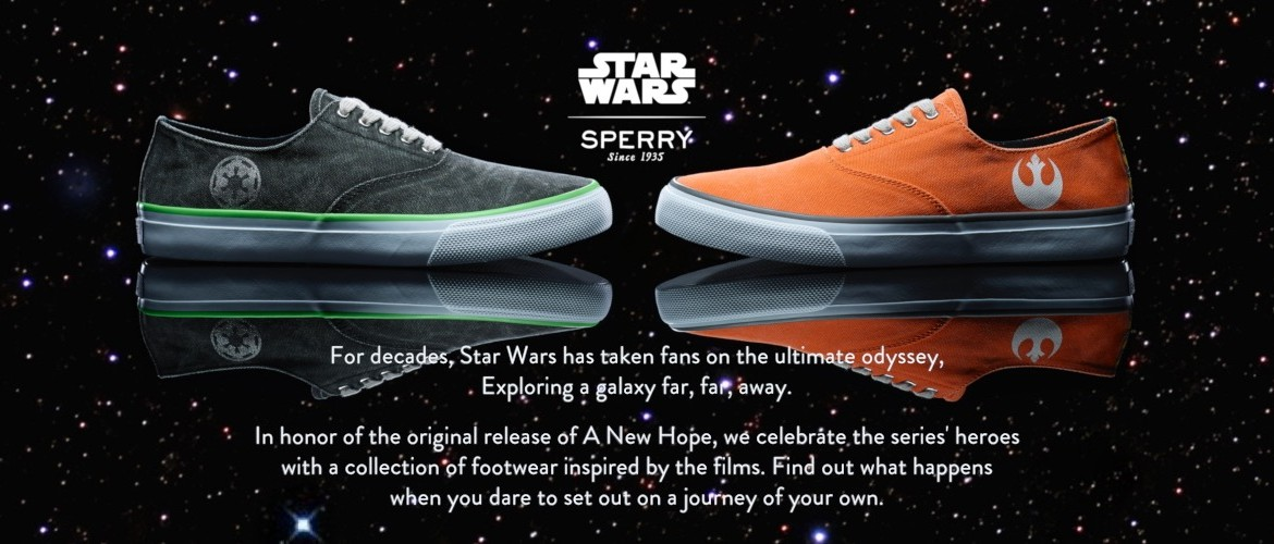 Introducing Sperry s Star Wars Line of Designer Footwear (New Sponsor!) d51c75923