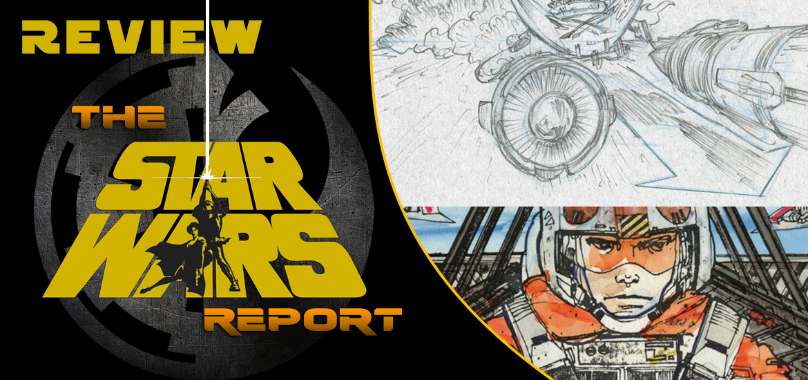 Star Wars Storyboards The Original And Prequel Trilogy Reviews The Star Wars Report